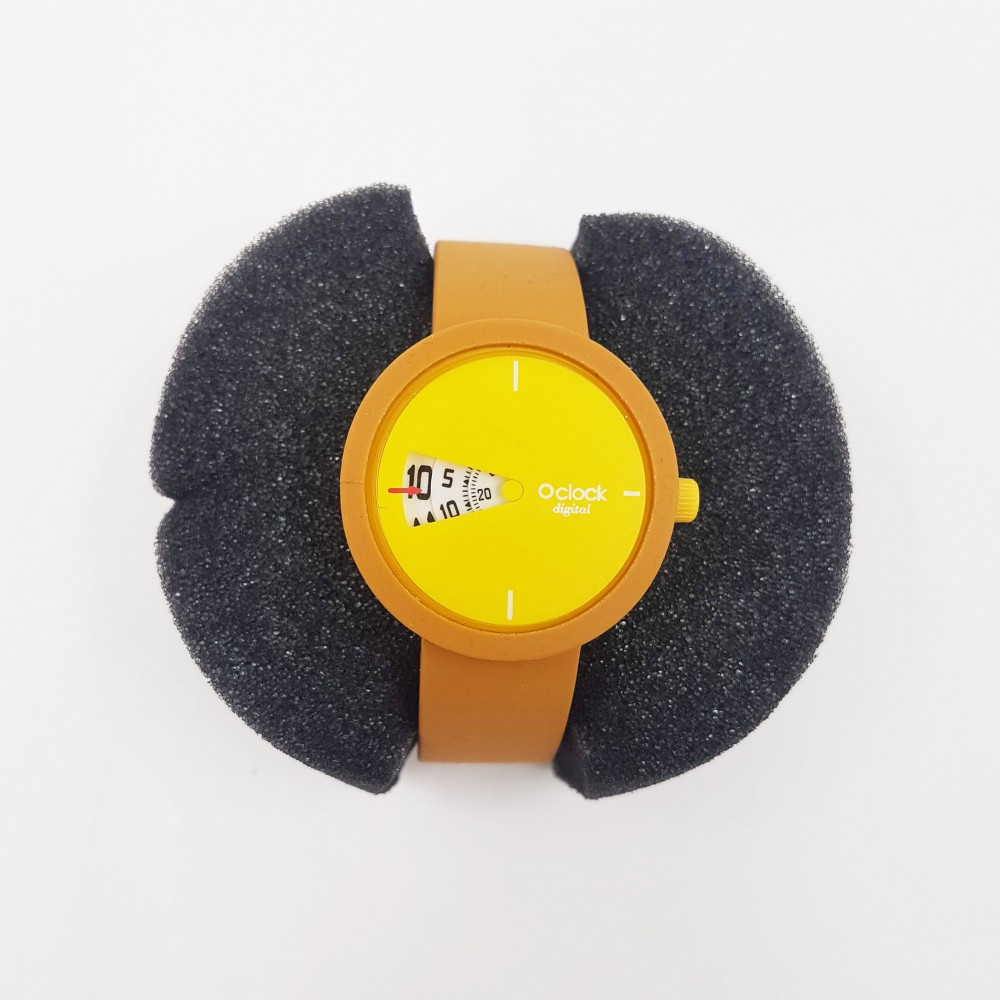 Obag Watch oclock 113 Classic mustard color