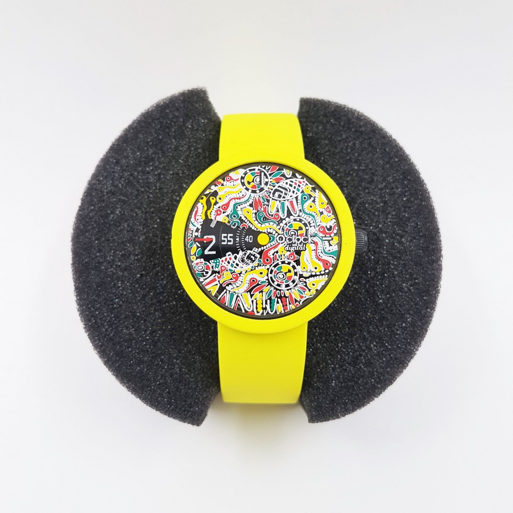 Obag Watch oclock 132 Classic Neon Lime color