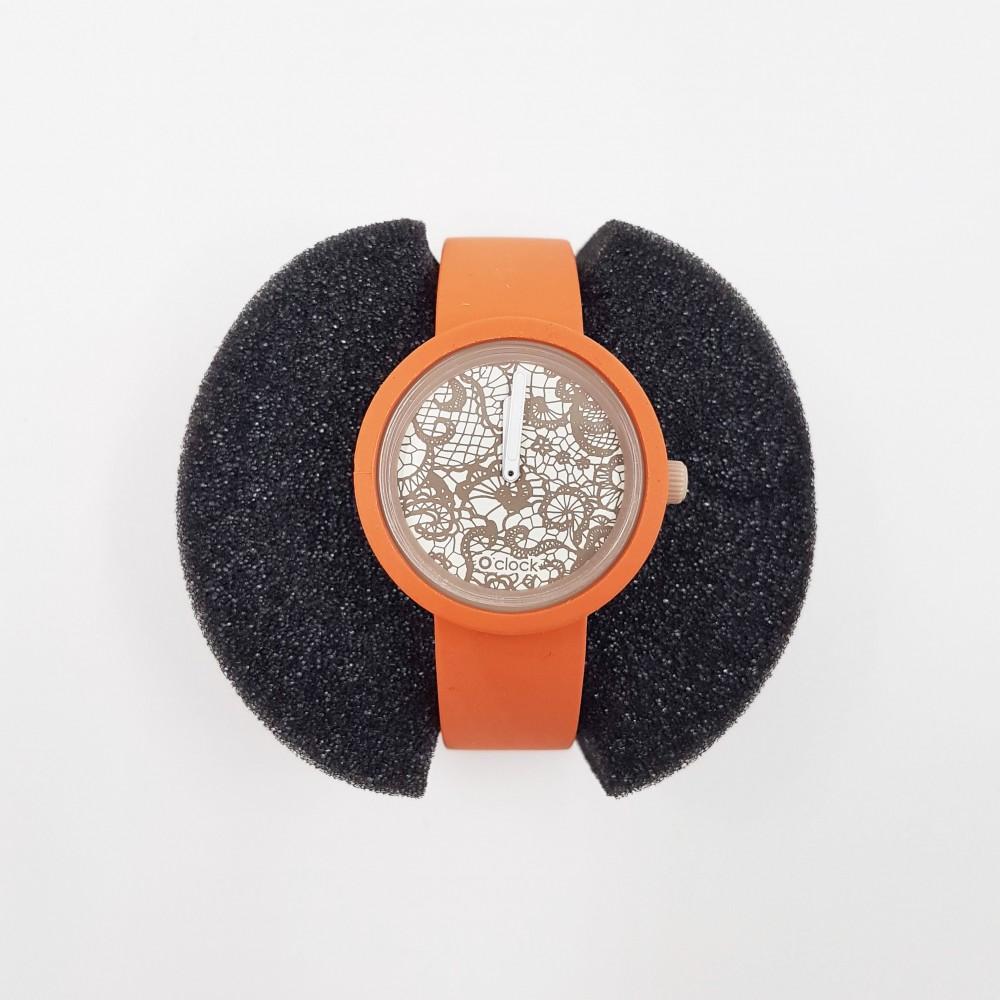 Obag Watch oclock 151 Classic Coral orange color