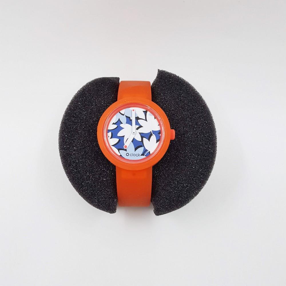 Obag Watch oclock 152 Classic Salamander orange color