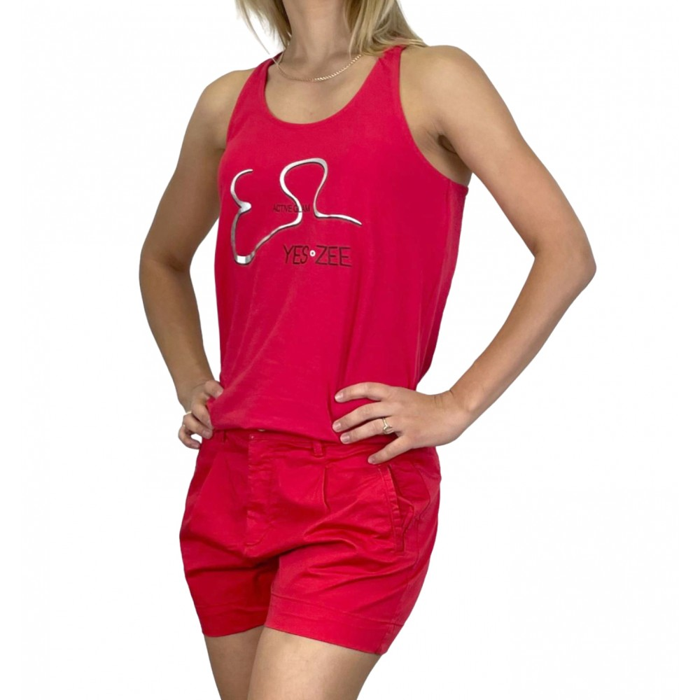 YES ZEE WOMEN'S T-SHIRT T265/TC00 COL.0505