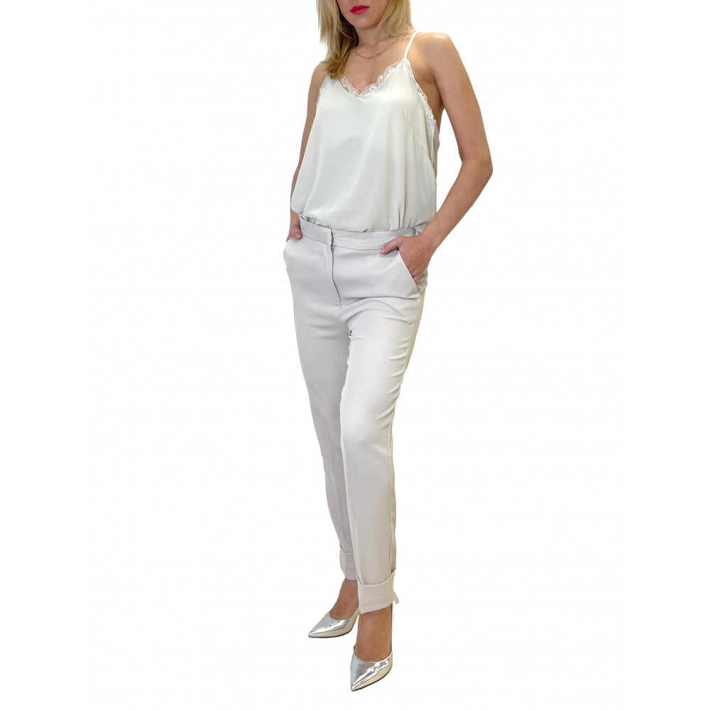 YES ZEE WOMEN'S TROUSERS P366/EH00 COL.0222