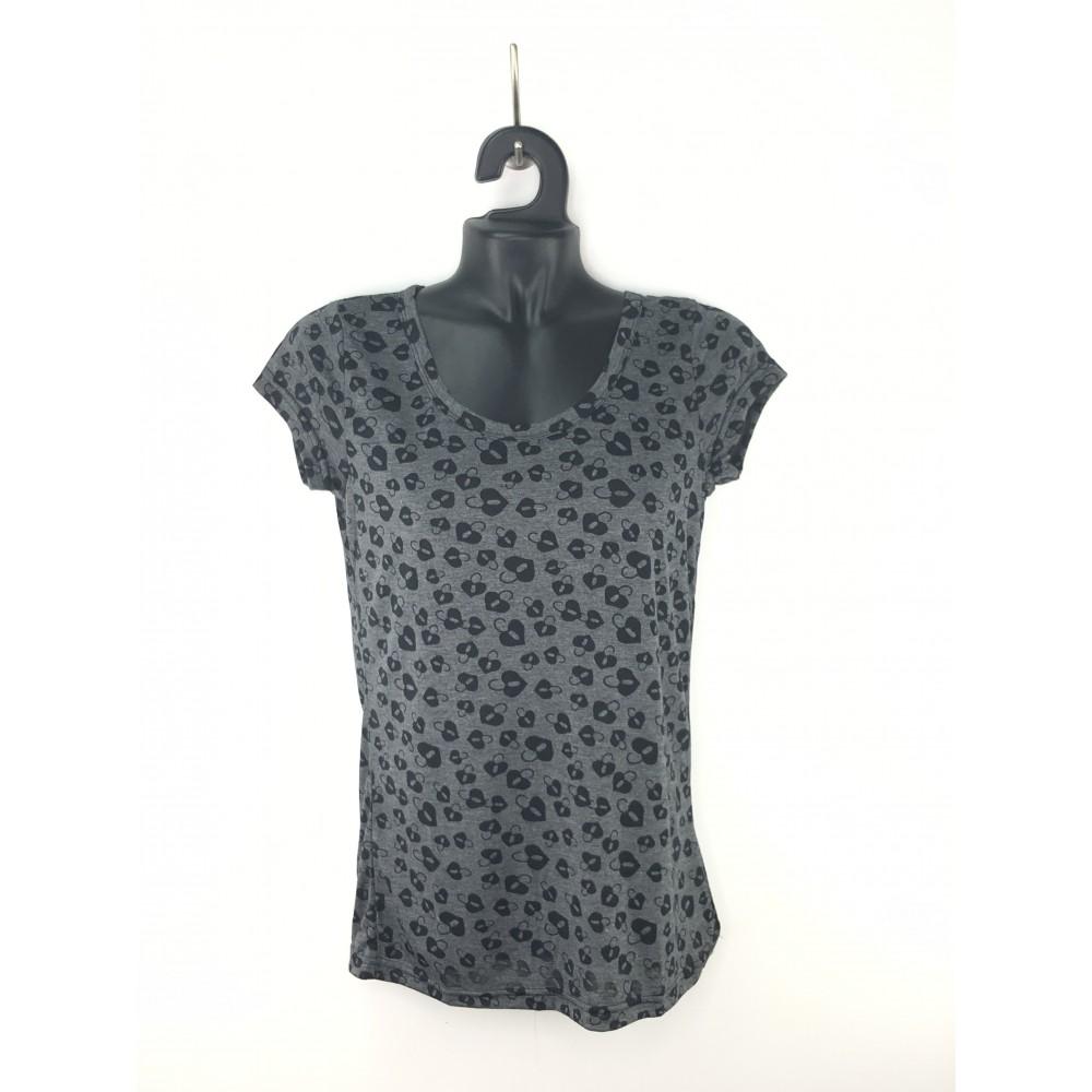 Zelia women's t-shirt short sleeves gray color