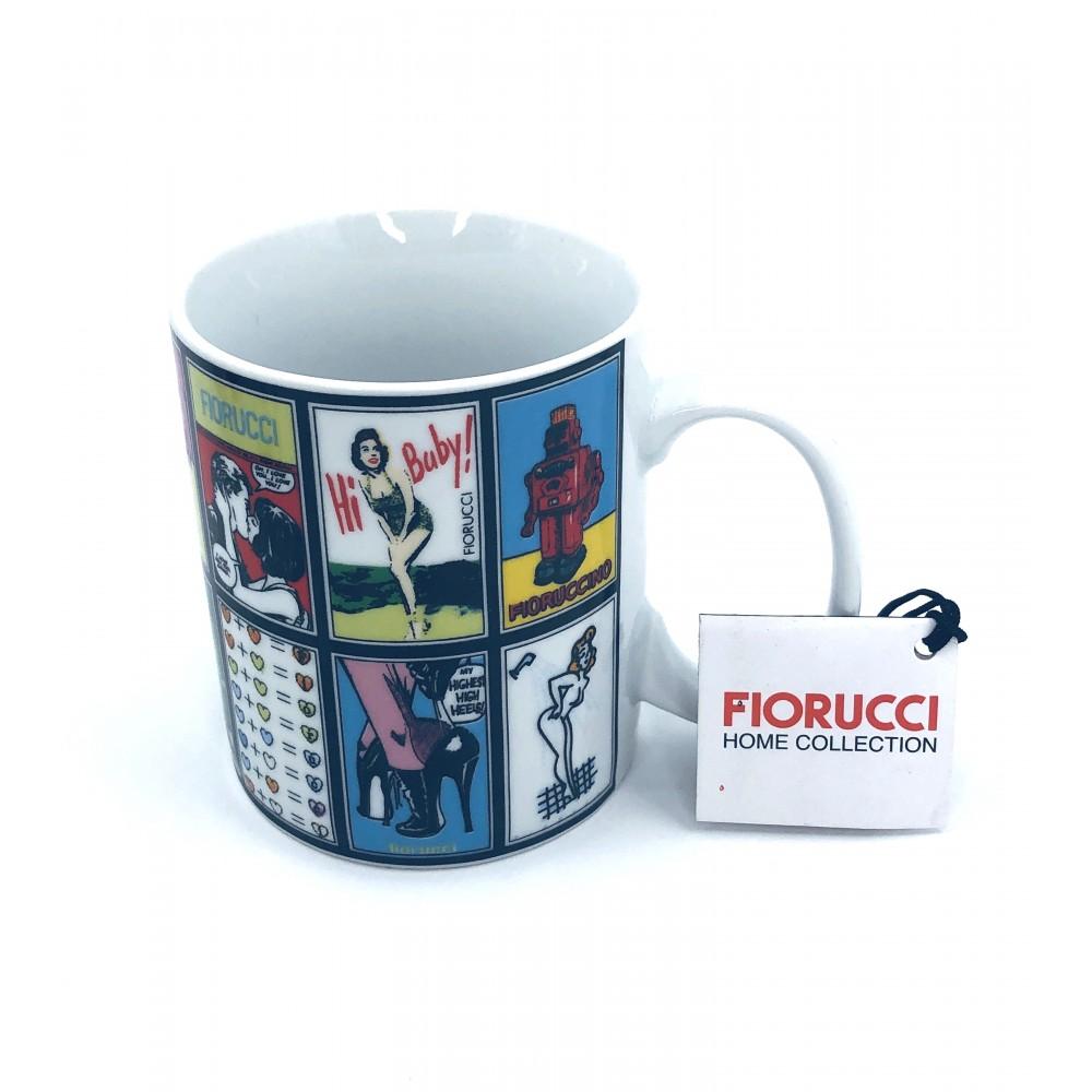 """FIORUCCI cup """"comics"""""""
